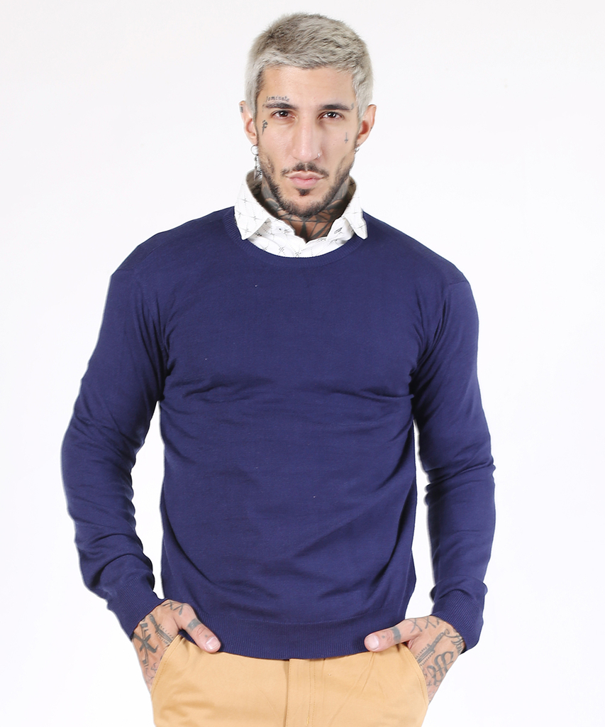 Sweater Azul O