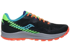 Saucony Peregrine 11 Men's Shoes Future Black - comprar online