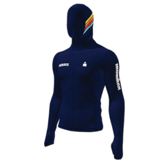 IRONMAN HOKA MEN'S SUNSET FULL-ZIP SEAMLESS HOODIE