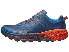 HOKA ONE ONE Speedgoat 4 Men's Shoes Majolica Blue/Red - comprar online