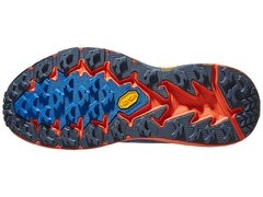 HOKA ONE ONE Speedgoat 4 Men's Shoes Majolica Blue/Red - ASPORTS - Since 1993!