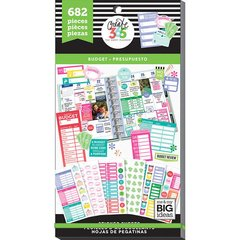 Bloco de adesivos - The Happy Planner - Budget