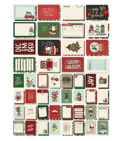 Snap Cards Jingle all the way Simple Stories - comprar online