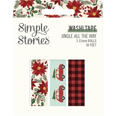 Washi tape Jingle all the way Simple Stories