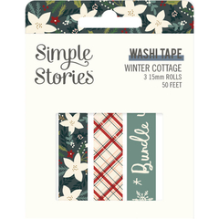 Washi tape Winter cottage Simple Stories