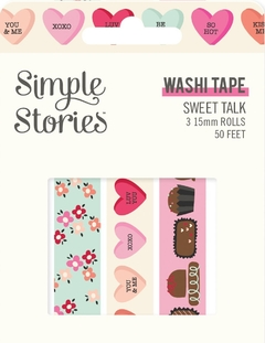 Washi Tape Simple Stories - Sweet Talk - comprar online