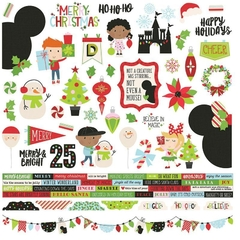 Adesivo 30x30 Simple Stories - Say Cheese Christmas