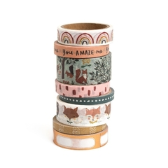 Kit Washi tape - Magical Forest - Crate Paper