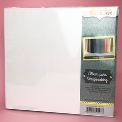 Álbum para Scrapbook 30x30 Branco - Oficina do Papel