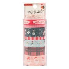 Washi tape Hey Santa Crate Paper