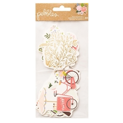 Die Cuts Lovely Moments  - icons -  Pebbles - comprar online