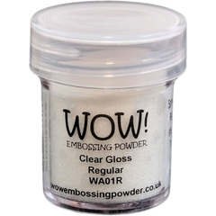Pó para emboss Wow - Clear Gloss Regular - comprar online