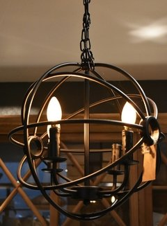 ART P134242-6 BALL CANDLE CHANDELIER