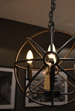 ART P134242-6 BALL CANDLE CHANDELIER - comprar online
