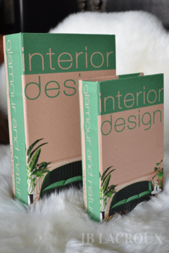 BOOK BOX SET X 2 INTERIOR DESING - comprar online