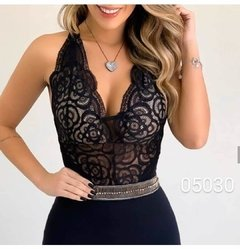 Body Renda Alça (BRA5002)