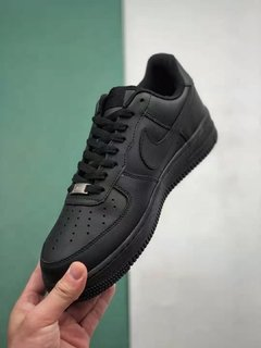 Tênis Nike Air Force 1 Low Black-Alt Original na internet