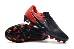 CHUTEIRA NIKE PHANTOM VENOM ELITE CAMPO BLACK+RED - loja online