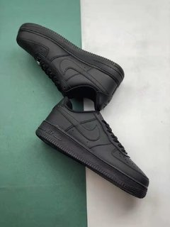 Tênis Nike Air Force 1 Low Black-Alt Original - loja online
