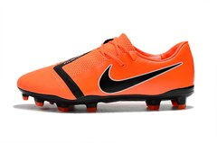 CHUTEIRA NIKE PHANTOM VENOM ELITE CAMPO ORANGE - loja online