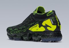 Nike Air VaporMax FK MOC 2 preto/verde Original - Sport Shoes