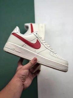 Tênis Nike Air Force 1 Low Sand Red Original - loja online