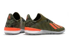 Chuteira Society Adidas x 19.1 tf  Pack 'Encryption' - Sport Shoes
