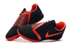 Chuteira Society Nike Phantom Venom Pro Red/Black Original