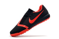 Chuteira Society Nike Phantom Venom Pro Red/Black Original na internet