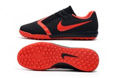 Chuteira Society Nike Phantom Venom Pro Red/Black Original - loja online