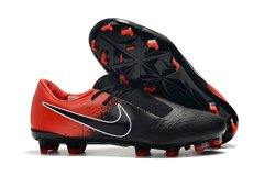 CHUTEIRA NIKE PHANTOM VENOM ELITE CAMPO BLACK+RED
