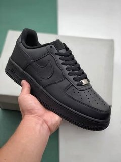 Tênis Nike Air Force 1 Low Black-Alt Original