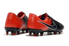 CHUTEIRA NIKE PHANTOM VENOM ELITE CAMPO BLACK+RED na internet