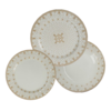 Set X6 Platos Playos Porcelana Petitlys 24 Cm Corona Diseño en internet