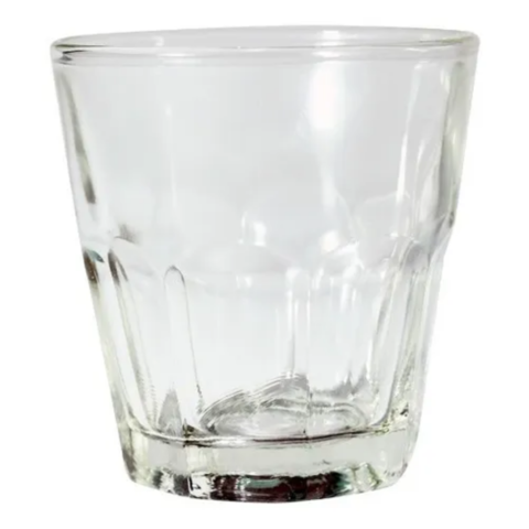 6 Vasos Simil Bristol Soda 120ml Vidrio Eventos Jugo