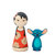 "Set Peg Dolls ""Lilo y Stitch"""