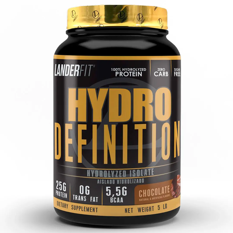 Hydro Definition 5 Libras Landerfit Proteína Isolate e Hydrolyzed - comprar online