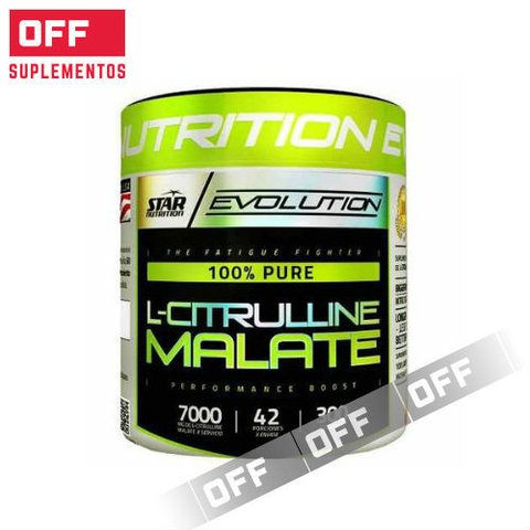 L-CITRULLINE MALATE 300GRS - STAR NUTRITION