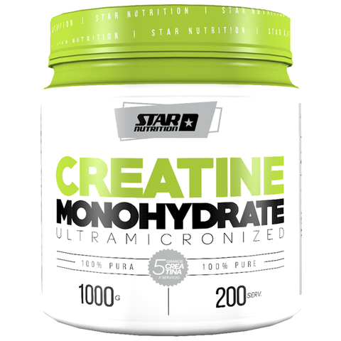 CREATINA MONOHIDRATO 1Kg - STAR NUTRITION