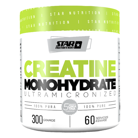 CREATINA MONOHIDRATO 300 Grs - STAR NUTRITION