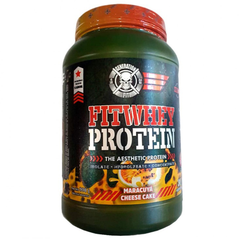 Fit Whey Protein 2lb Isolate + Hydrolizate + Concentrate - Generation Fit