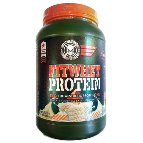 Fit Whey Protein 2lb Isolate + Hydrolizate + Concentrate - Generation Fit - Off Suplementos