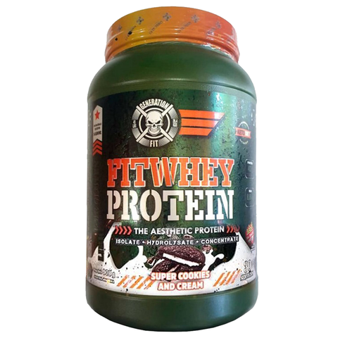 Fit Whey Protein 2lb Isolate + Hydrolizate + Concentrate - Generation Fit - tienda online