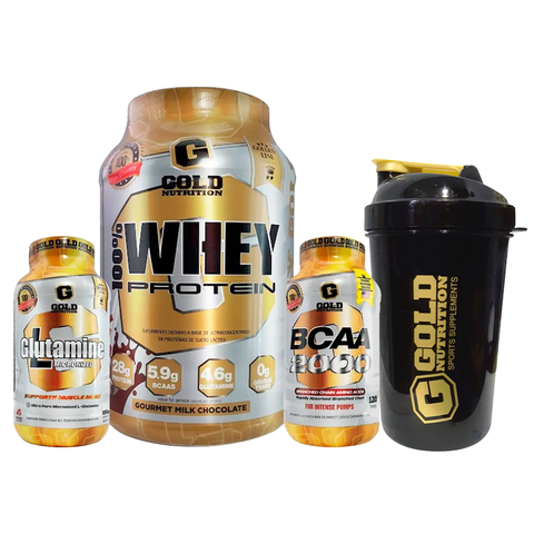 COMBO MANTENIMIENTO + SHAKER - GOLD NUTRITION