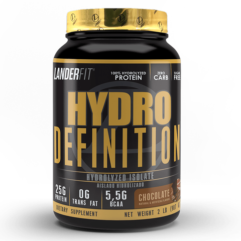 Hydro Definition 2 Libras Landerfit Proteína Isolate e Hydrolyzed