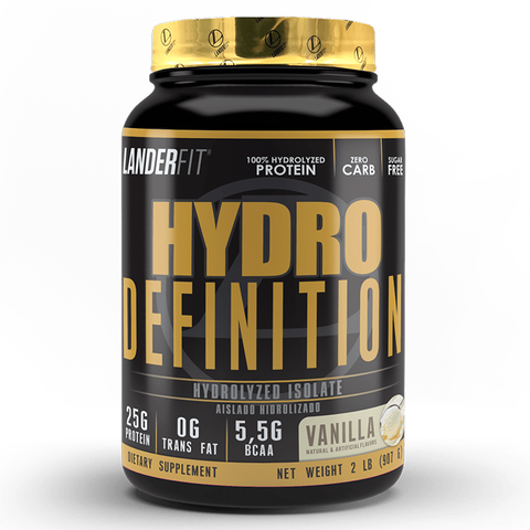 Hydro Definition 2 Libras Landerfit Proteína Isolate e Hydrolyzed - Off Suplementos