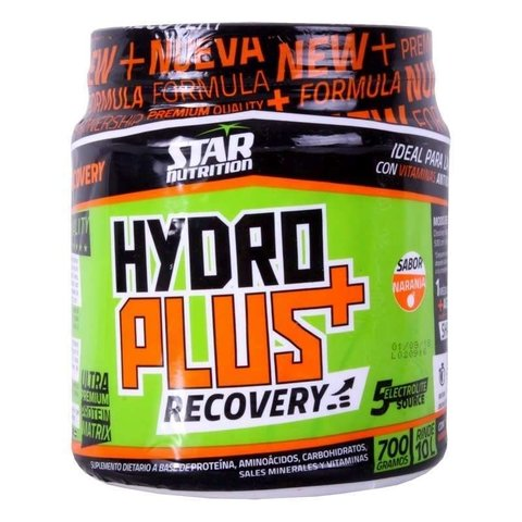 HYDROPLUS RECOVERY 700 Grs - STAR NUTRITION