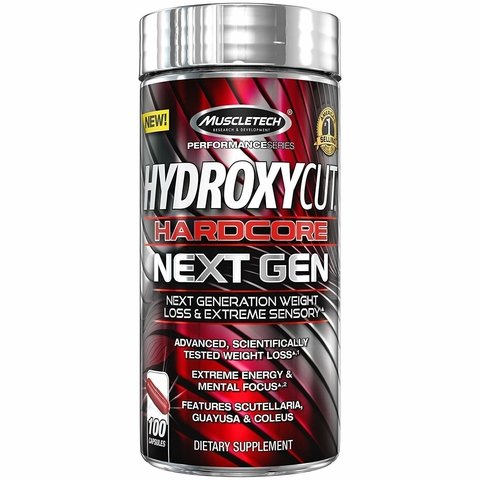 HYDROXYCUT HARDCORE NEXT GEN 100Caps - MUSCLETECH