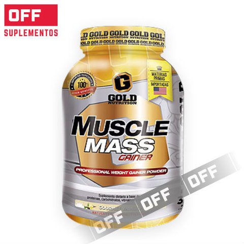 MUSCLE MASS GAINER 3,3Lbs - GOLD NUTRITION