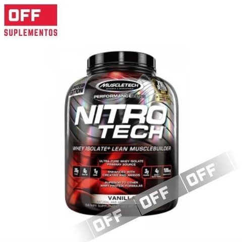 NITRO TECH 4Lbs - MUSCLETECH